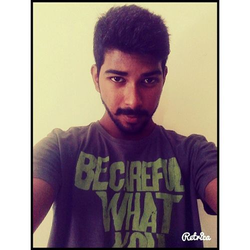 The new me Look 2 Haircut Shave Tada Mustache Indian Southindian Mallu Nair Peaceandlove Fooodie Selfie HASHTAG Punekar