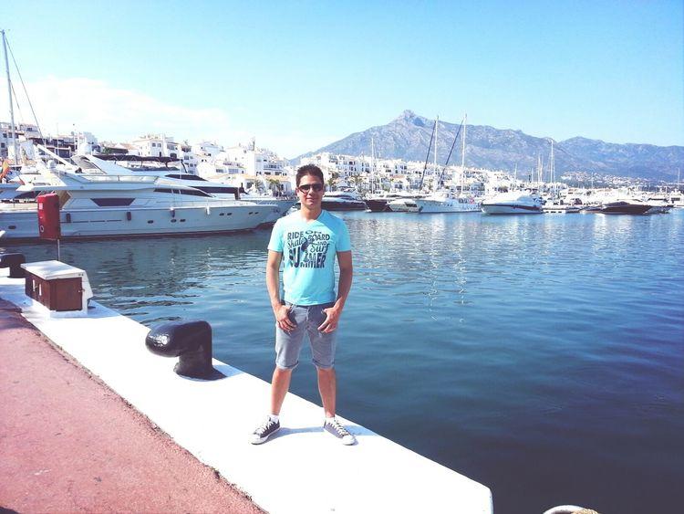 Relaxing At Puerto BANUS Marbella That's Me