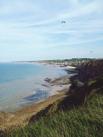 Landscape Normandy Nature Sea