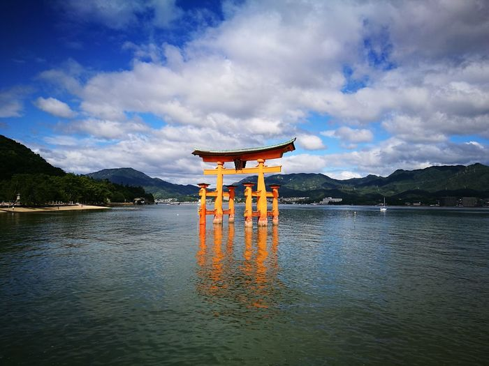 Nofilternoedit Torii Gate Miyajima Japan Photography Orange Color Tradition Architecture Miyajima Tori Miyajima