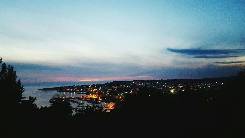 Leuca Salento Grecia Mare Vista Meraviglia Luci Tramonto Case Porto Faro Sea Beautiful Wonderful Home House Sky Cielo Showcase: February