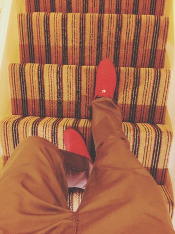 Downward Check This Out That's Me Hanging Out Hello World Hi! Relaxing Taking Photos Enjoying Life Selfmade 100 Kicks Steps Stairs Staircase Walking Around Walking Walking This Way IPhoneography IPhone Iphonephotography Iphone6plus Iphone6plusphotos