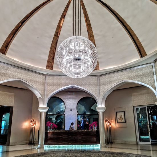 City Place Of Worship Arch Tile Ornate Architecture Dome Entrance Hall Ceiling Architecture And Art Hanging Light