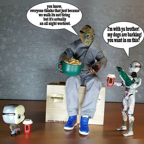 Slow stalking serial killer coffee talk. Coffee Coffeeordeath Nocoffeenowork Nocoffeenoworkie Trooperjason Jason Jasonvorhees Krashes_kustoms Drunktoys Tcb_popeveryday