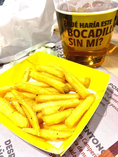 Patatas Food