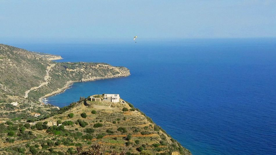 Paragliding Greece Peleponnes Ocean View Inflightpictures View From Above