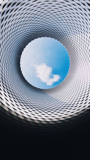 Round the cloud EyeEm Best Shots Circle Sky Geometric Shape Architecture Cloud - Sky No People Built Structure The Architect - 2018 EyeEm Awards