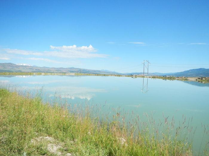 Water Sky Grass