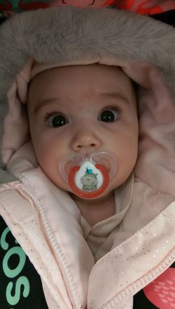 Portrait Babies Only Baby Close-up Cosatto Dummy Pacifier