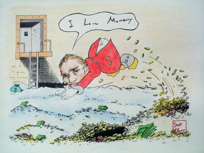 Van Gogh Painting Money Esedy