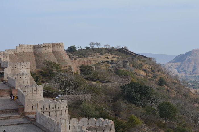 Khumbhalgarh fort udaipur. Built in 15th century by Maharaja Khumbhal. It stretches 36km Khumbhalgarhfort