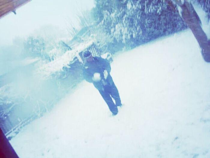 Winter wonderland White Snow ❄throw ?
