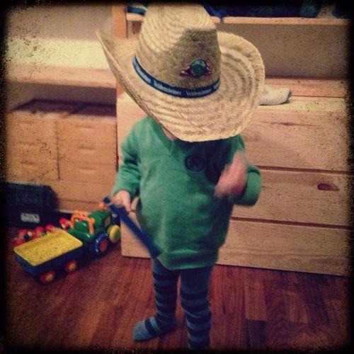 Cowboy My Son Good Times Enjoying Life