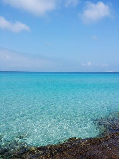 Wonderful place Puglia Apuglia Salento Sea Horizon Over Water Sky Scenics Beauty In Nature Tranquil Scene Water Tranquility Nature Cloud - Sky Outdoors Idyllic Day Blue No People