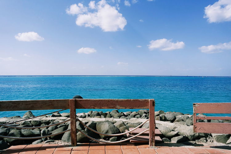 Sea Beach Horizon Over Water Water Outdoors Sky Day Cloud - Sky Vacations Sand Nature Tranquility Blue Summer Scenics No People Travel Destinations Beauty In Nature Photooftheday Photography Relaxation Clear Sky Jeddah The Week On EyeEm