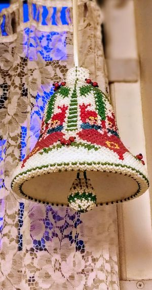 Hanging No People Multi Colored Close-up Indoors  Christmas Decoration Christmas Bell
