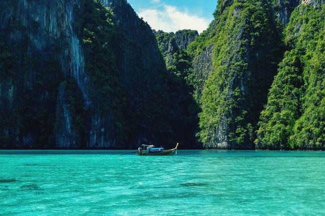 Thailand_allshots] Kohphiphi Kohphiphiisland KohPhiPhi, Thailand Pileh Lagoon