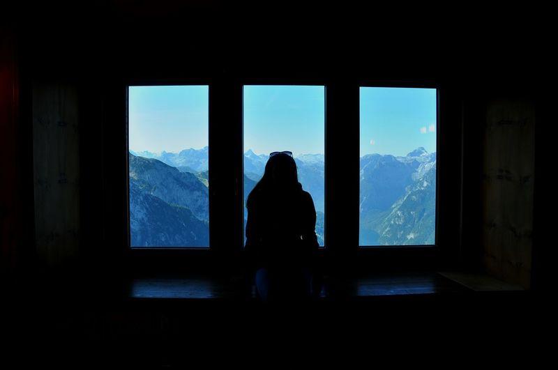 Berchtesgadener Land  Kehlsteinhaus (Eagle's Nest) Light And Shadow Silhouette Taking Photos Open Edit