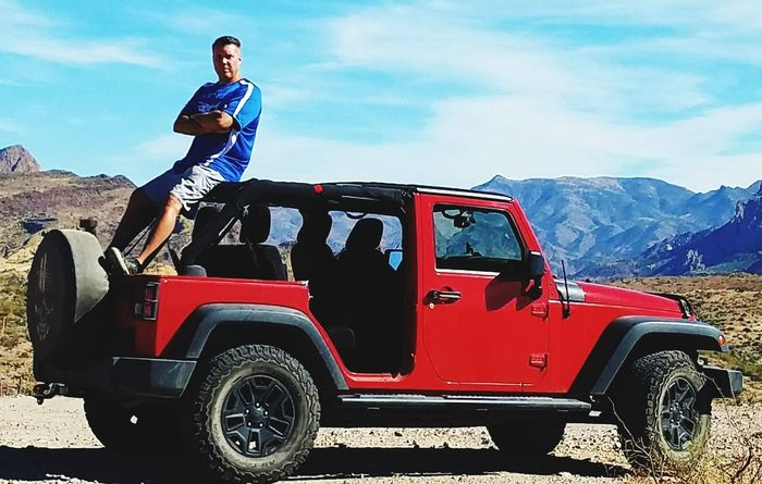 One Man Only Jeep Wrangler
