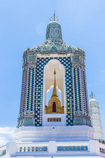 Grand Palace or Wat Phra Kaeo is amazing temple in Thailand Amazing; Ancient; Architecture; Asia; Bangkok; Buddha; Culture; Decoration; Emerald; Exterior; Famous; Gold; Grand; History; Kingdom; Landmark; Pakoda; Palace; Religion; Royal; Temple; Thai Art; Thailand Unseen; Wat;