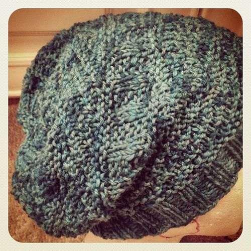 All done! Weekend knitting, just in time for the rain to return. Knitting Seattle Dustland