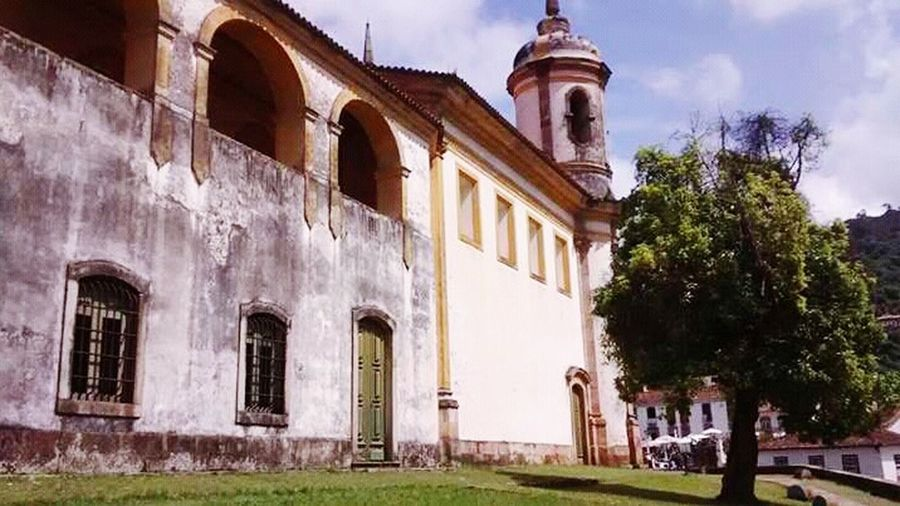 Architecture Cloud - Sky Outdoors No People Cityscape Day City Window OuroPreto-Brasil MG  Be. Ready. EyeEmNewHere