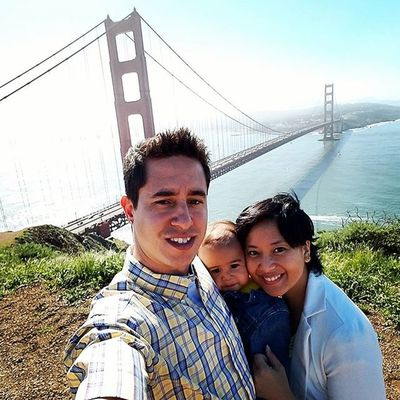 Of looking the Golden Gate with the family😀 Goldengate Family Jonathan  Bayarea Beautiful Bay Bridge SF Outside Scenery View