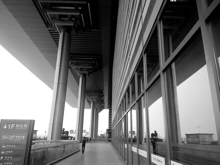 The Architect - 2015 EyeEm Awards Train Station Blackandwhite