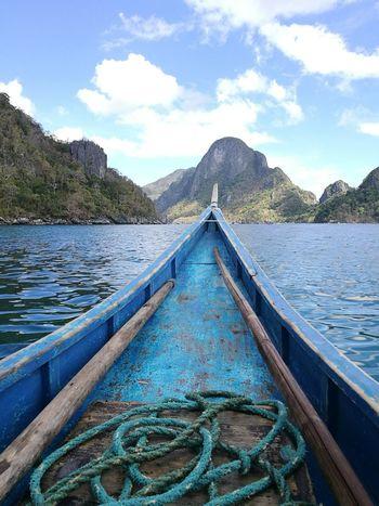 PH needs no filter. Boats⛵️ Island Islandlife Philippines Elnido Palawan Mysummer Best Shots EyeEm