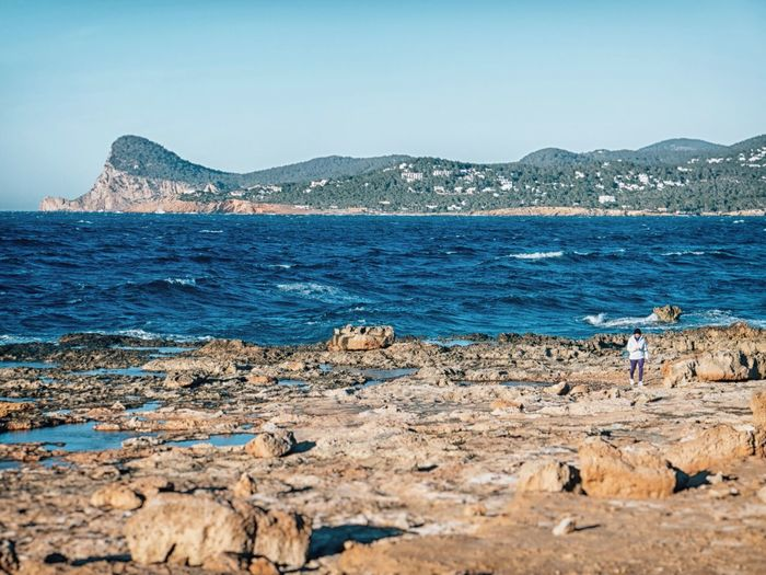Walking alone Open Edit Seascape Blue Wave The KIOMI Collection EyeEm Nature Lover