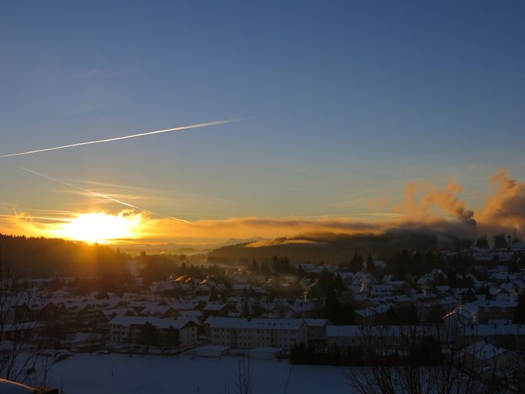 My Hometown Sunrise... Sunrise_Collection Onmywaytowork Wintertime Getting Inspired Light And Shadow Sunlight ☀