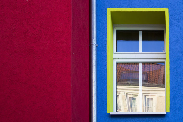 Architecture Berlin Building Exterior Canon Colors Day Detail Geometric Shape Geometry Germany Glass Light And Shadow No People Outdoors Photographer Photography Red Reflection Street Street Photography Transparent Tube Vibrant Color Wall Window