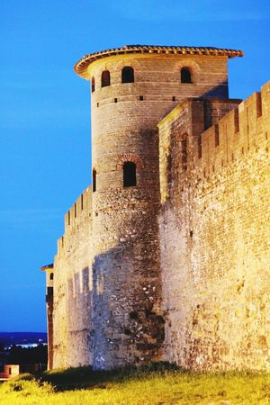 History Architecture The Past Built Structure Old Castle Old Ruin Ancient Building Exterior Fort Tower Damaged Abandoned Travel Destinations No People Day Ancient Civilization Low Angle View Outdoors Past Carcassone, France Castles Travel Tourism Low Angle View