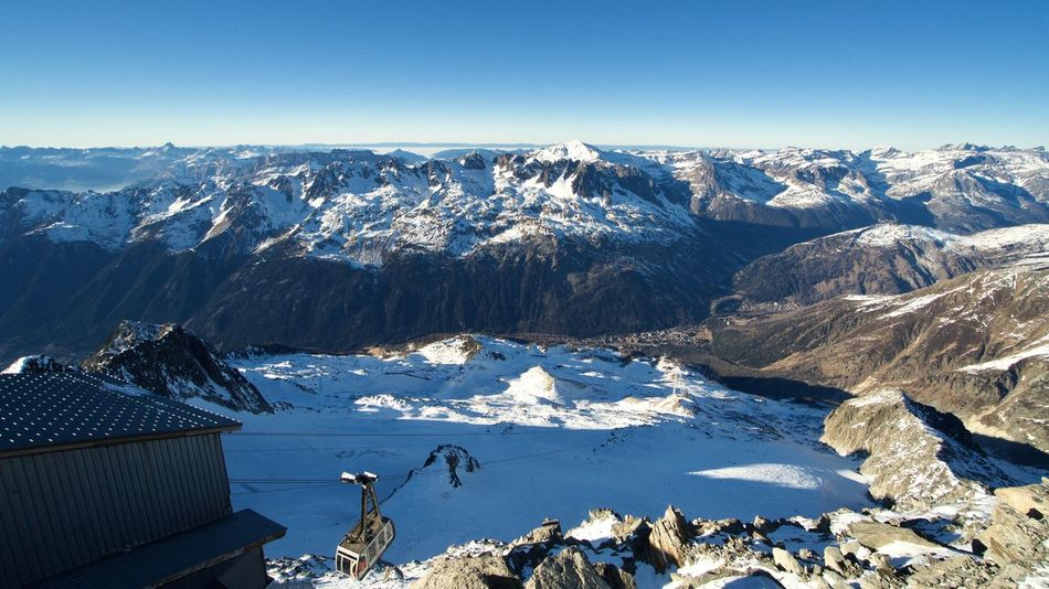 The View from Grands Montets. A6300 Alps Argentiere Beauty In Nature Cold Temperature Day Extreme France Grands Montets Landscape Medialook Mont Blanc Mountain Mountain Peak Mountain Range Nature No People Outdoors Scenery Scenics Skiing Snow Snowboarding Snowcapped Mountain Winter