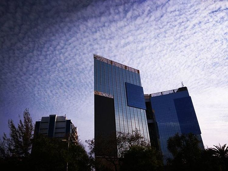 Beautiful sky Jbclickz Sky Clouds Bluesky Glassbuilding