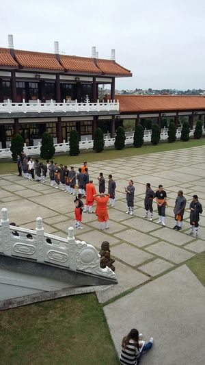 Vista lateral Templo Zu Lai. Templozulai Templo ♡♡ Templosanpablo Templobudista