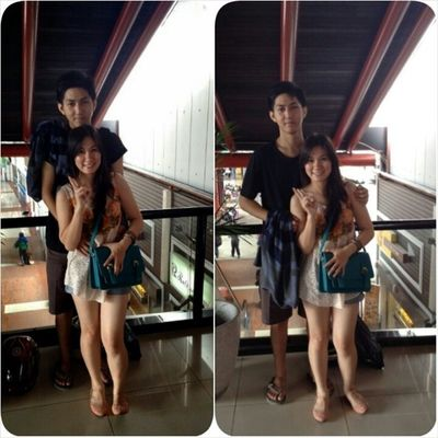 ♥♥ Me and hunny... Asian  Narcism Together 2photo couple love instacouple instadaily instaphoto like4like tags4like follow2follow