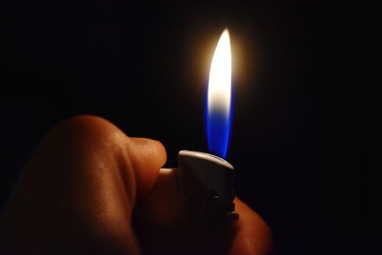 Lighter, Flame, Fire, Torch
