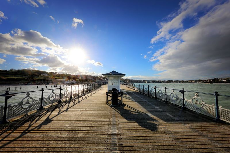 Swanage Sky Water Cloud - Sky Sea Pier Nature One Person