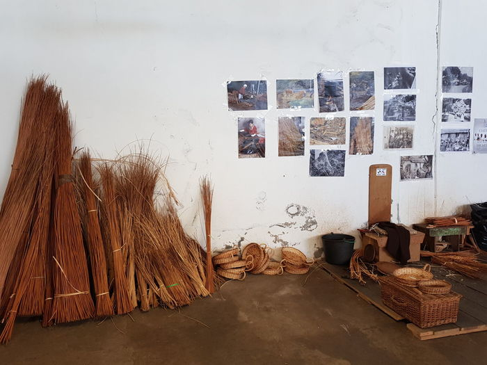 Working Place Basket Maker Basket Worker Craft Traditional Art Bildfolge Photography Willow Tree Day No People