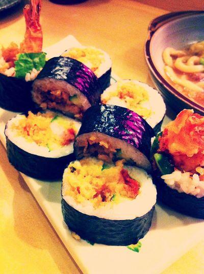 最愛炸蝦壽司了 Suyiwang