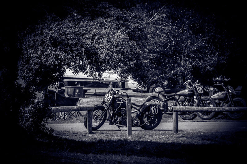 Black & White Classic Cars Land Vehicle Motorcycle Nature Outdoors The Race Of Gentlemen Trog Vintage Vintage Cars