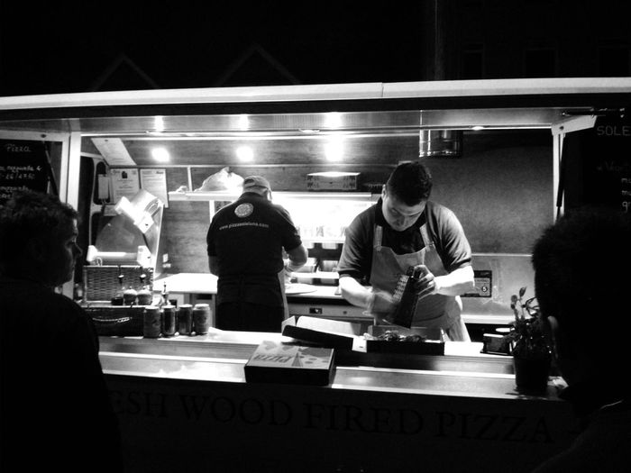 Street Food Oxford Pizza Fresh