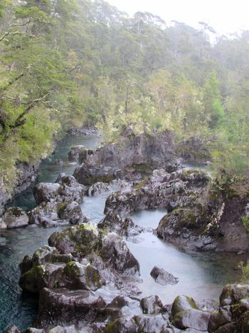 1018 Rain Holiday Vacations EyeEm Gallery Tourism Landscape_Collection Streamzoofamily Chile Southamerica Saltos Del Petrohue Wildlife Wild Nature Water River Nature Landscape Forest Tree Outdoors No People Scenics Beauty In Nature Tranquility Travel Destinations Fog Day