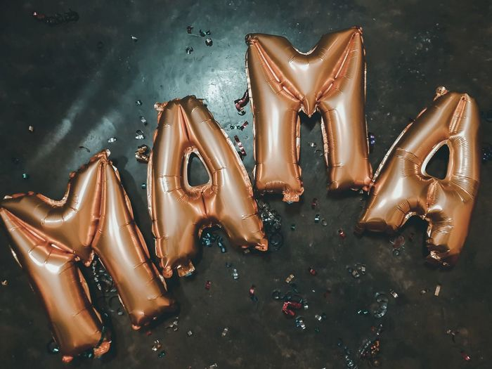 MAMA EyeEm Selects Celebration Females Studio Shot Glitter Close-up