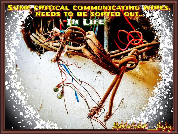 Unwiring the complications......