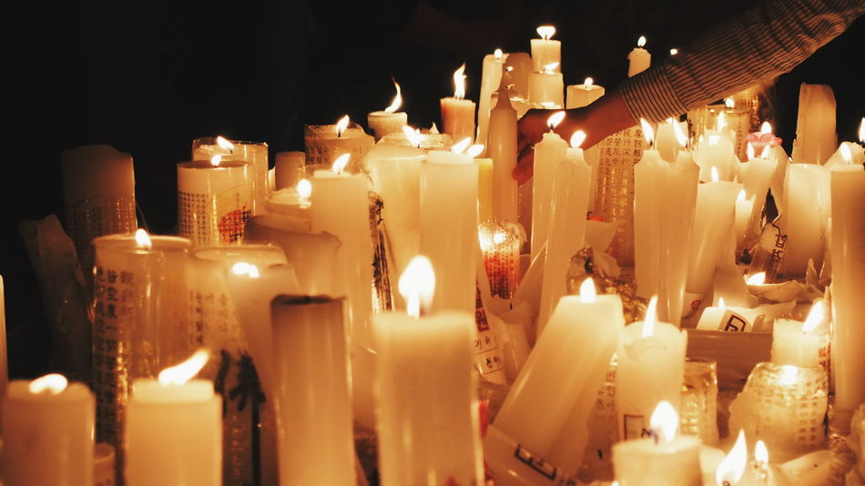 🕯🕯🕯 Jogyesa Wanderlust VSCO Traveling Travel Epl5 Studyabroad Seoul Korea Temple Lanternfestival Candles