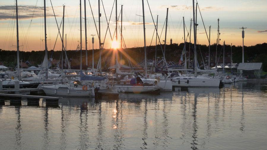 Marina Sunset -