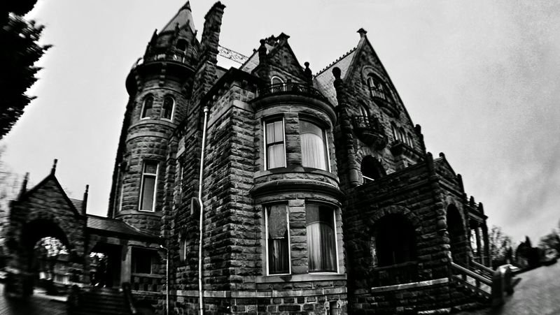 possibly haunted Photography Blackandwhite Castle Architecture Cheaplens
