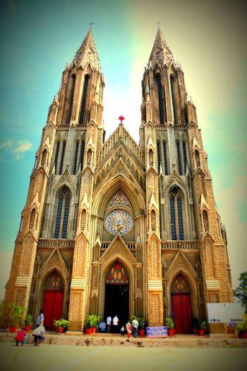 Churches Indian Monuments St. Philomenas Mysore, India Monuments Visit Friends ❤ Indiapictures